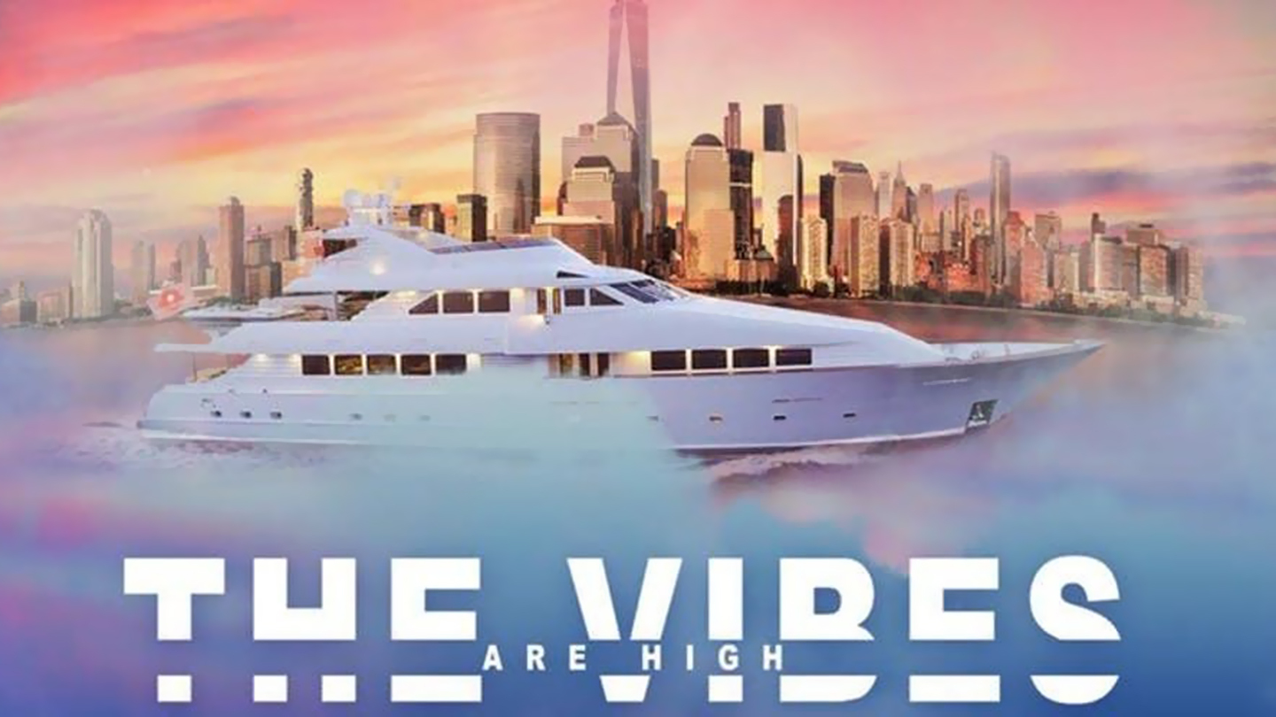 """4/20 Yacht Cruise Boat Party NYC """"The Vibes Are High"""""""