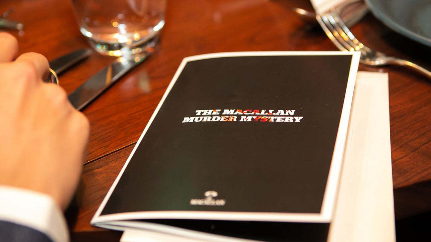 """Whiskey Stories: """"Macallan Murder Mystery"""" (Comedy)"""