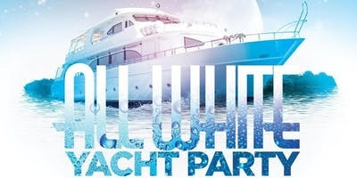 All White Attire Yacht Party