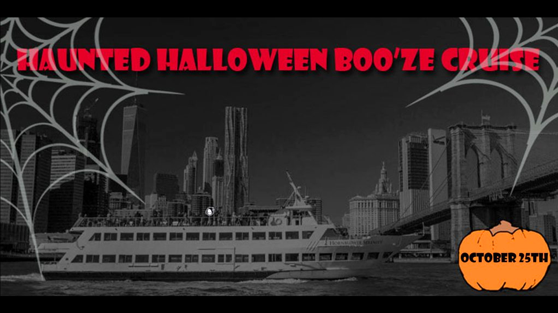 Haunted Halloween Boo'ze Cruise