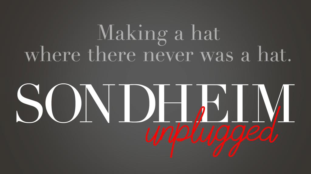 """Sondheim Unplugged"" Celebrates the Legendary Composer"