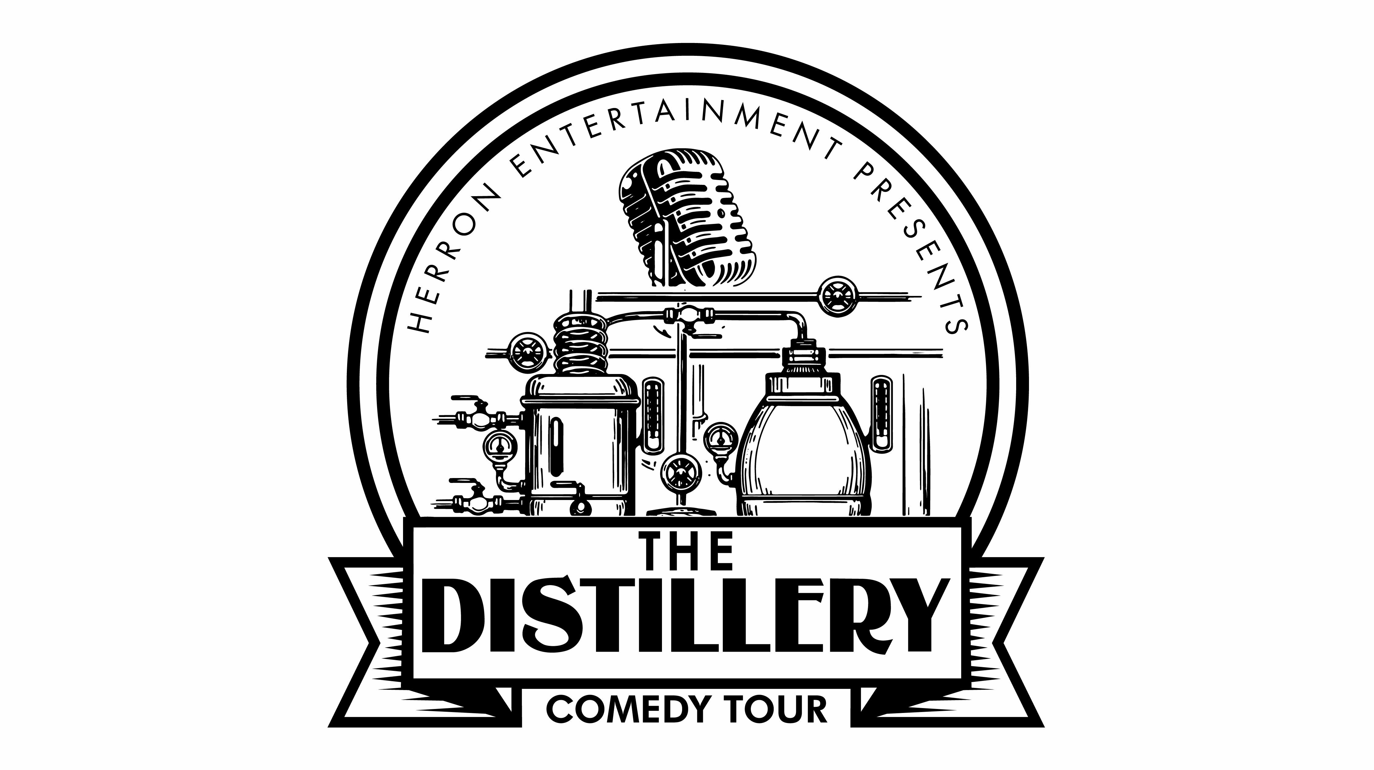 the DISTILLERY COMEDY TOUR