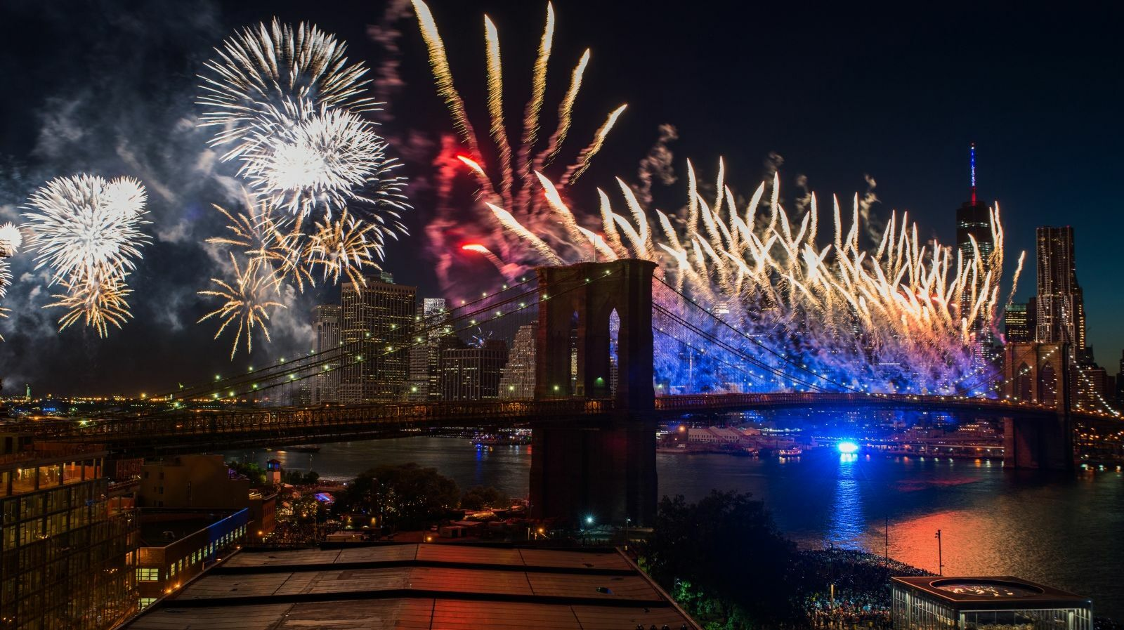July 4th Family Fireworks Cruise: Open Bar & Buffet