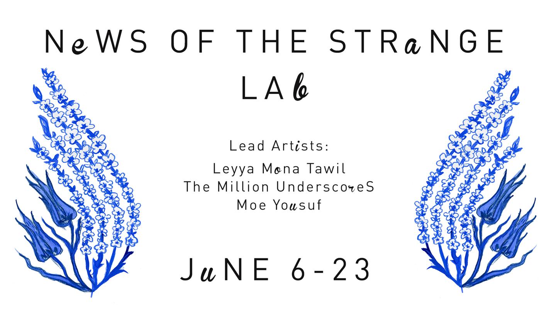 "News of the Strange Lab: ""News of the Strange"""
