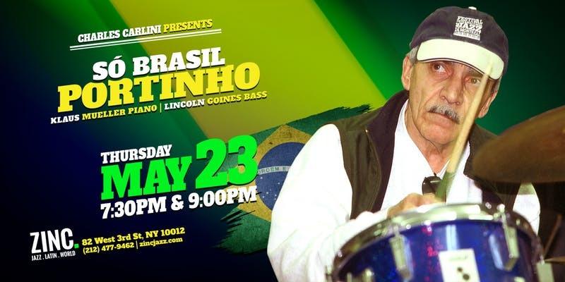 Acclaimed Brazilian percussionist Portinho