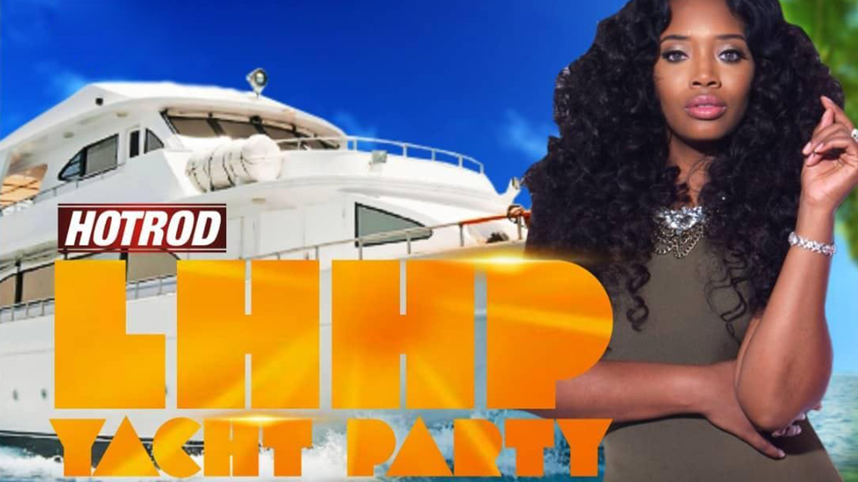 Love & Hip-Hop Yandy Smith Yacht Party