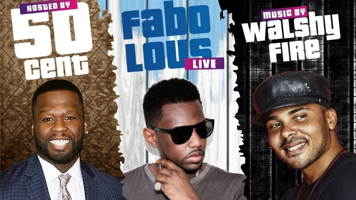 Fabolous, 50 Cent and Walshy Fire of Major Lazor