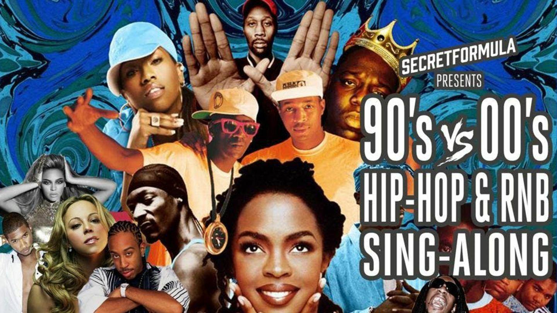 90's vs 00's Hip Hop & RnB Sing-Along