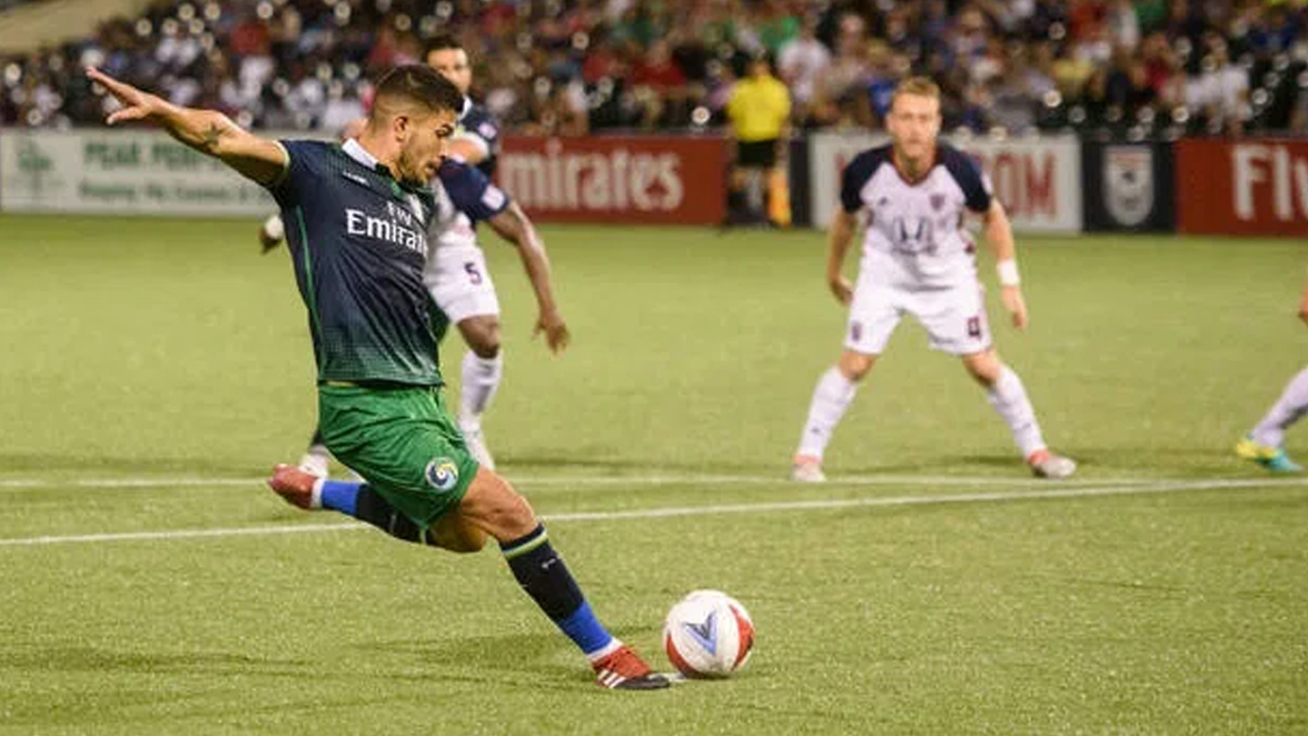 New York Cosmos: Soccer Action