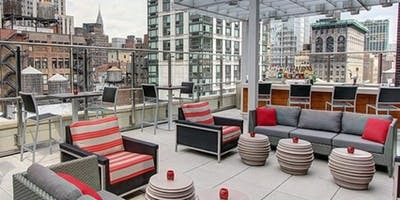 Rooftop Whiskey and Cigar Tasting