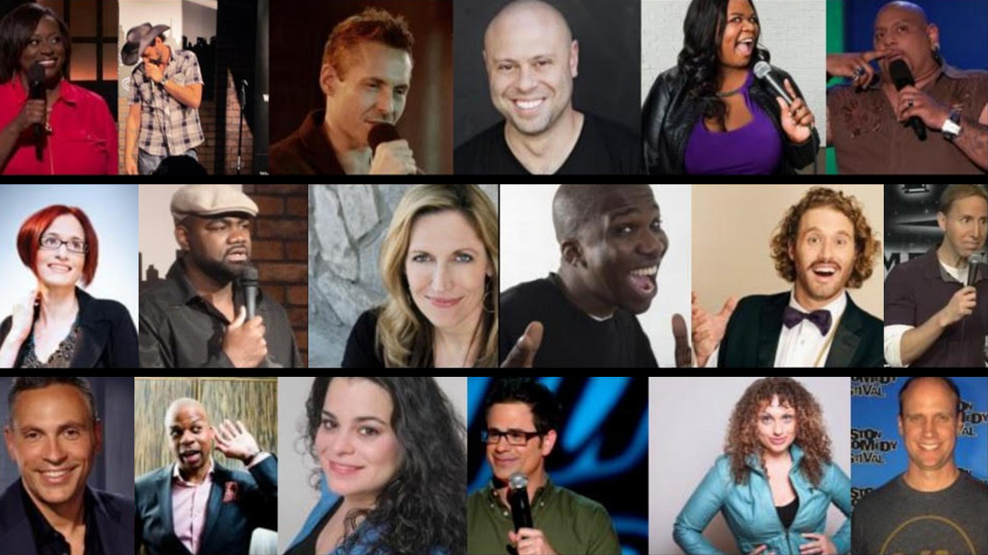 """All Star Stand-Up Comedy"": Top Comics Perform"