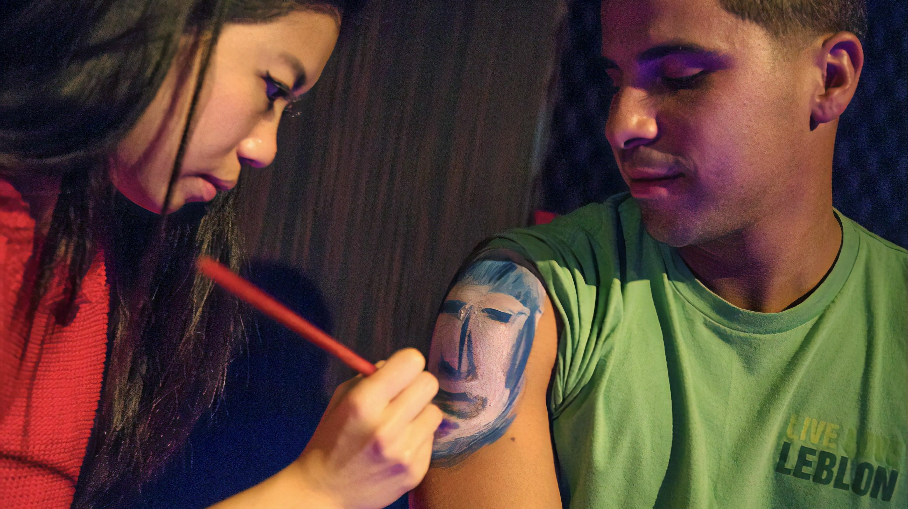 PaintDate: Speed Dating + Body Painting