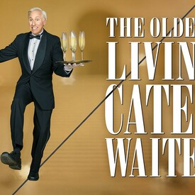 The Oldest Living Cater Waiter