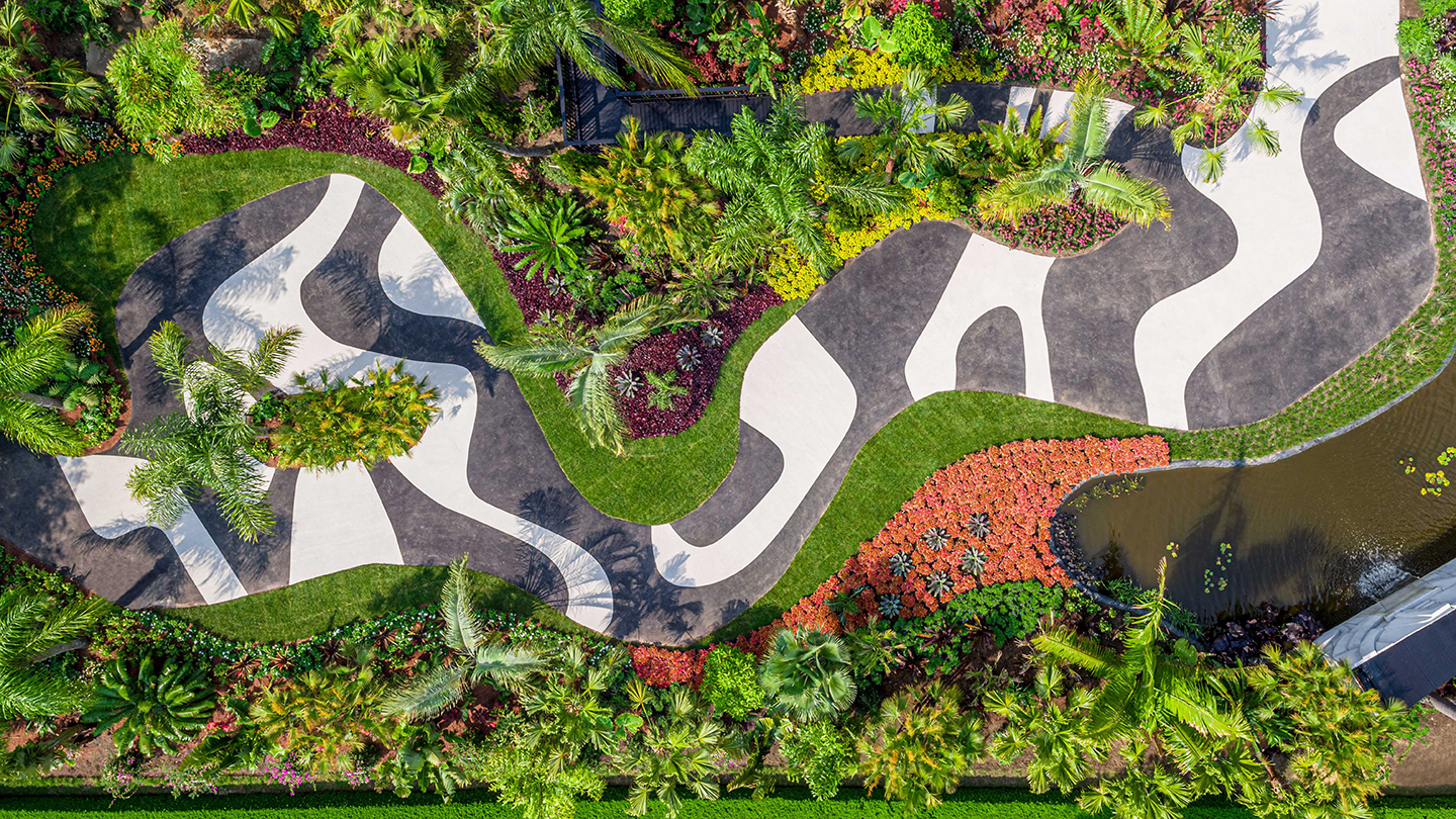 Garden Tribute to Brazil's Foremost Landscape Designer