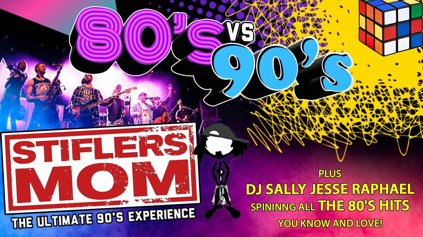 '80s vs. '90s Party: Live Band + DJ Playing Hits