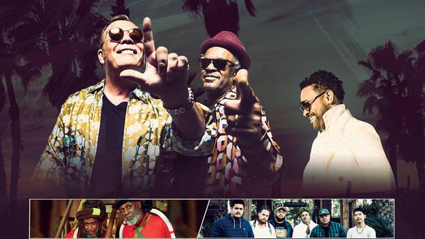 UB40, Ali, Astro & Shaggy