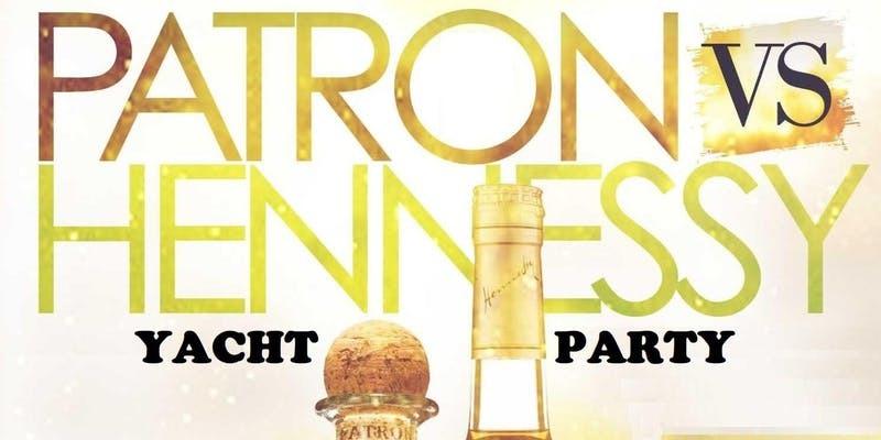 Henny vs. Patron Day Yacht Party