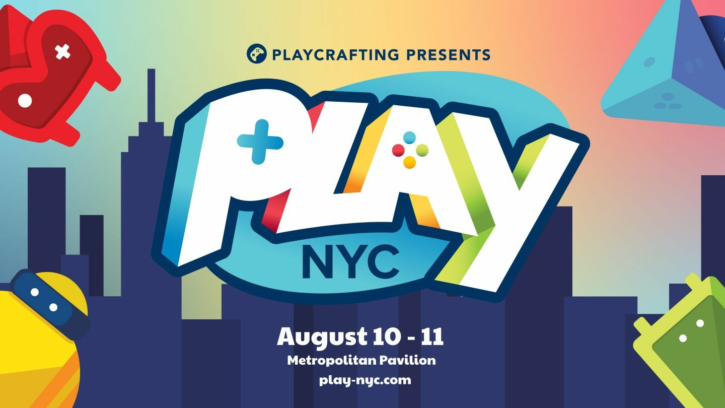 Play NYC: New York's Largest Game Convention