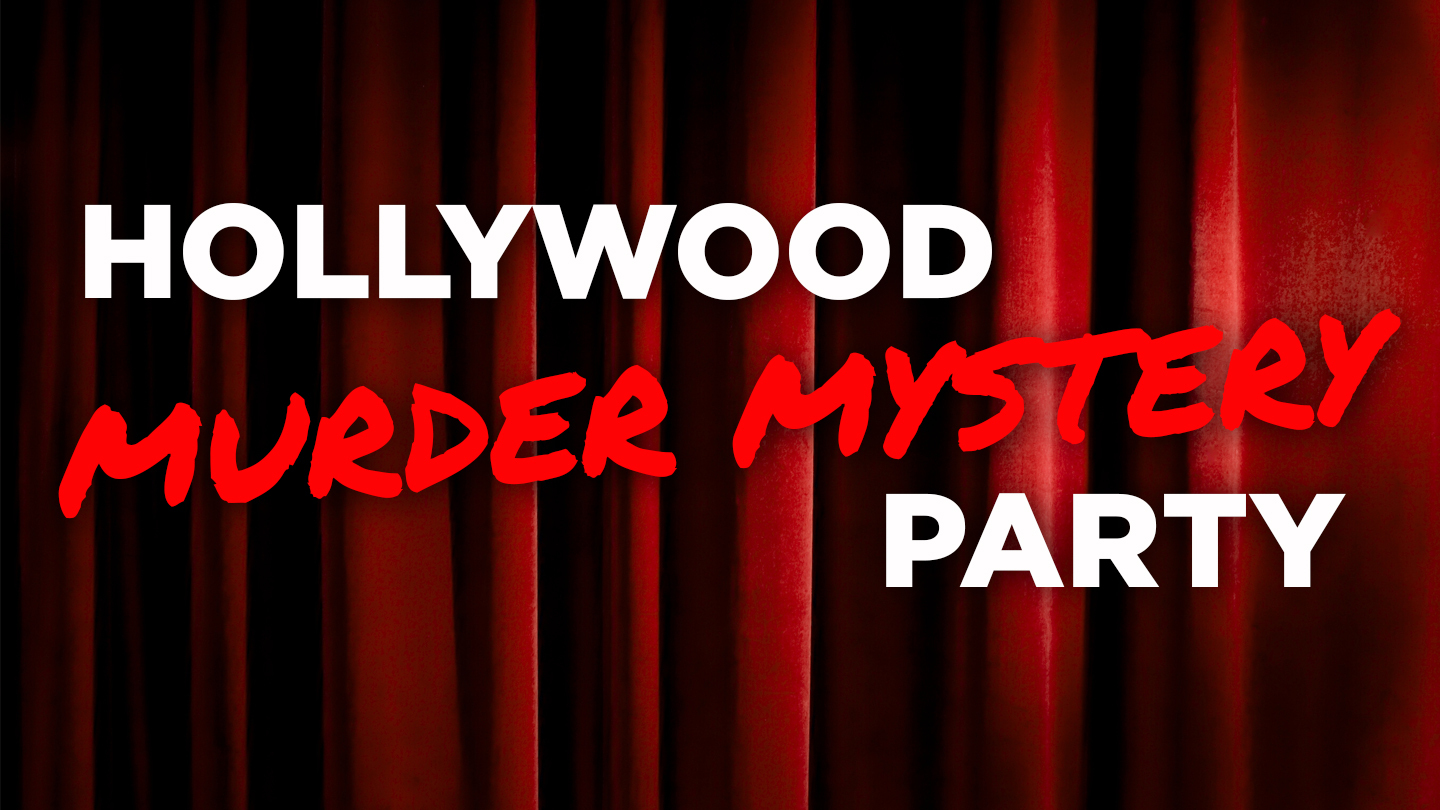 Hollywood Murder Mystery Party