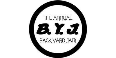 All White BYJ 2019 (Back Yard Jam)