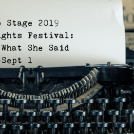 "Page to Stage"" Playwrights Festival"