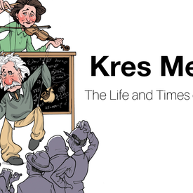 """Kres Mersky: """"The Life and Times of A. Einstein"""