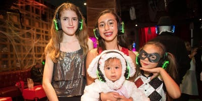 Kids Halloween Silent Disco