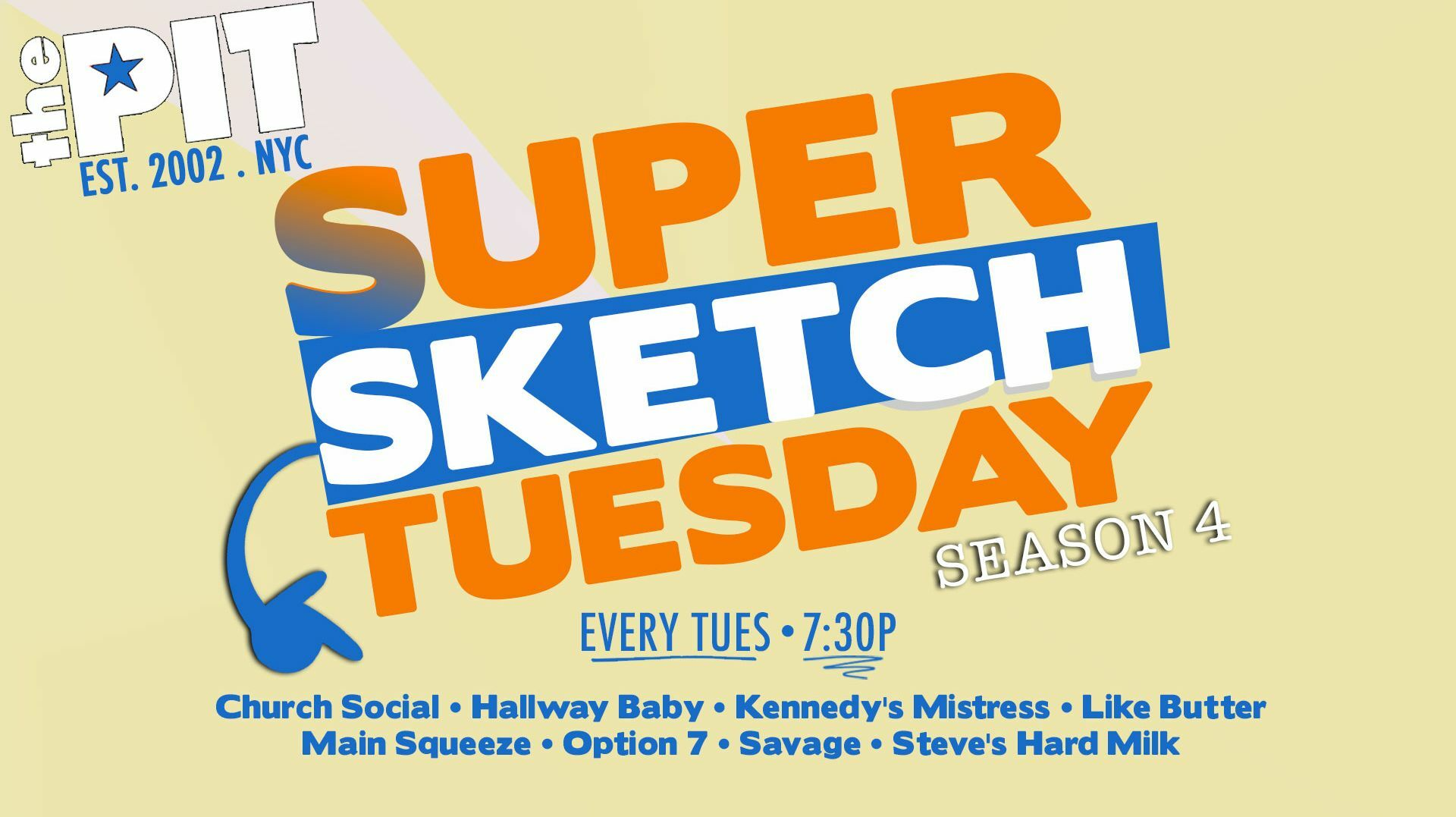 """""""Super Sketch Tuesday!"""": The Peoples Improv Theater's Sketch Comedy Night"""
