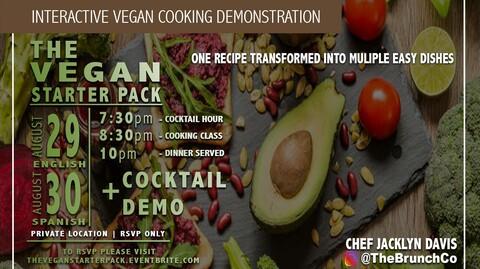 The Vegan Starter Pack: A Transitional Cooking Class
