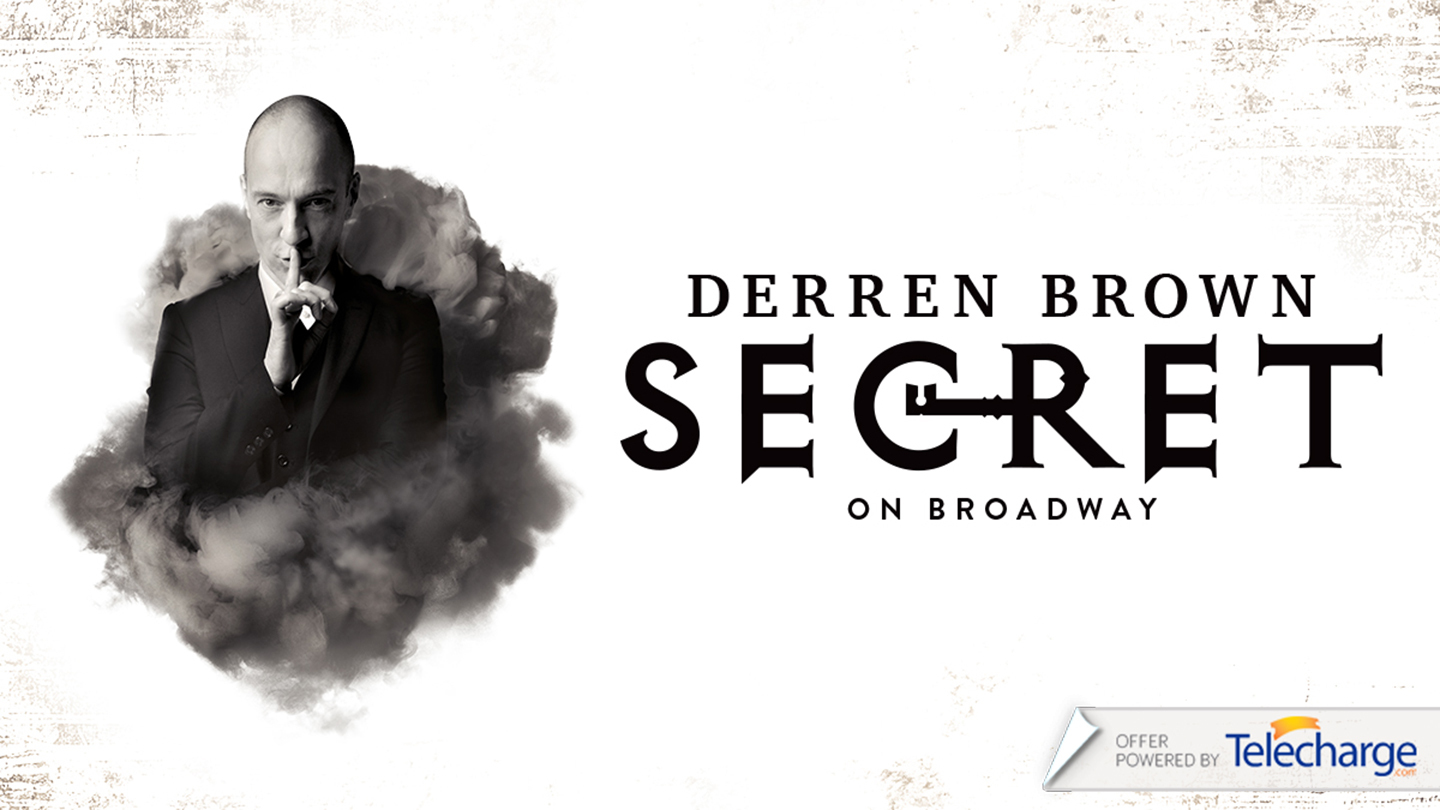 """Derren Brown: Secret"" on Broadway"