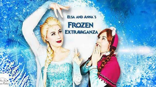 """""""Elsa & Anna's Frozen Extravaganza!"""""""