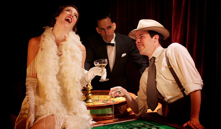 Casino Speakeasy Party: Games, Prizes & Cocktails