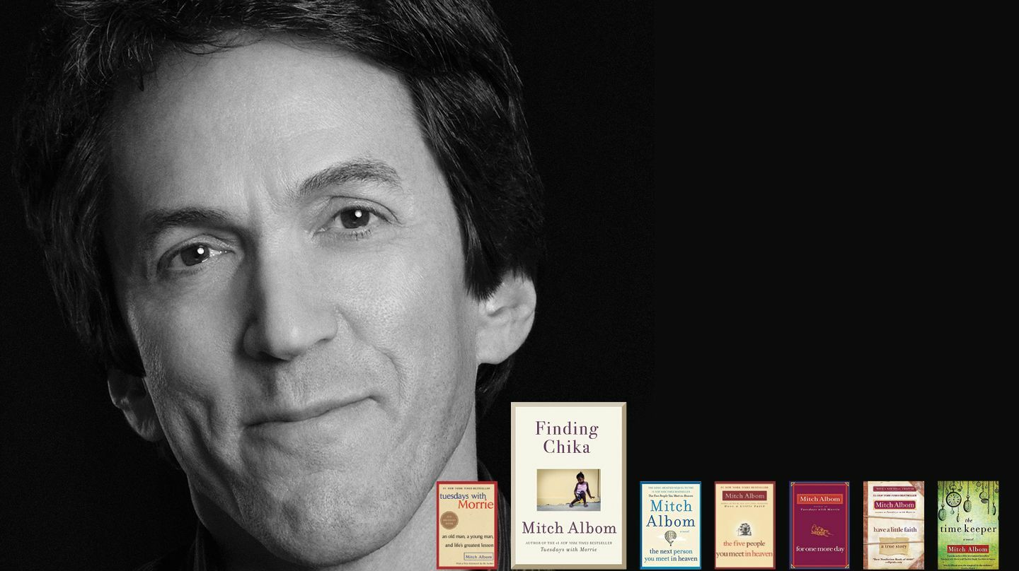 Mitch Albom on the Making of an Unlikely Family