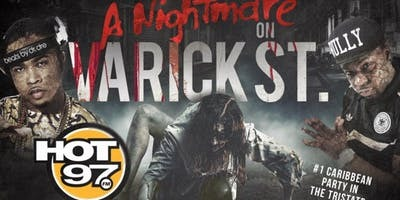 Hot 97 Nightmare on Varick Street Halloween Party