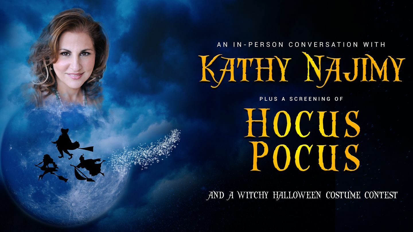 "Kathy Najimy Live at ""Hocus Pocus"" Screening"