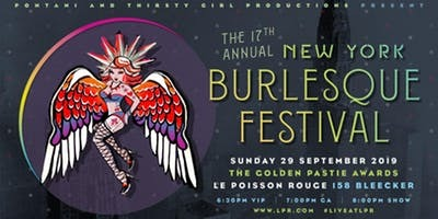 The Golden Pastie Awards Burlesque Festival