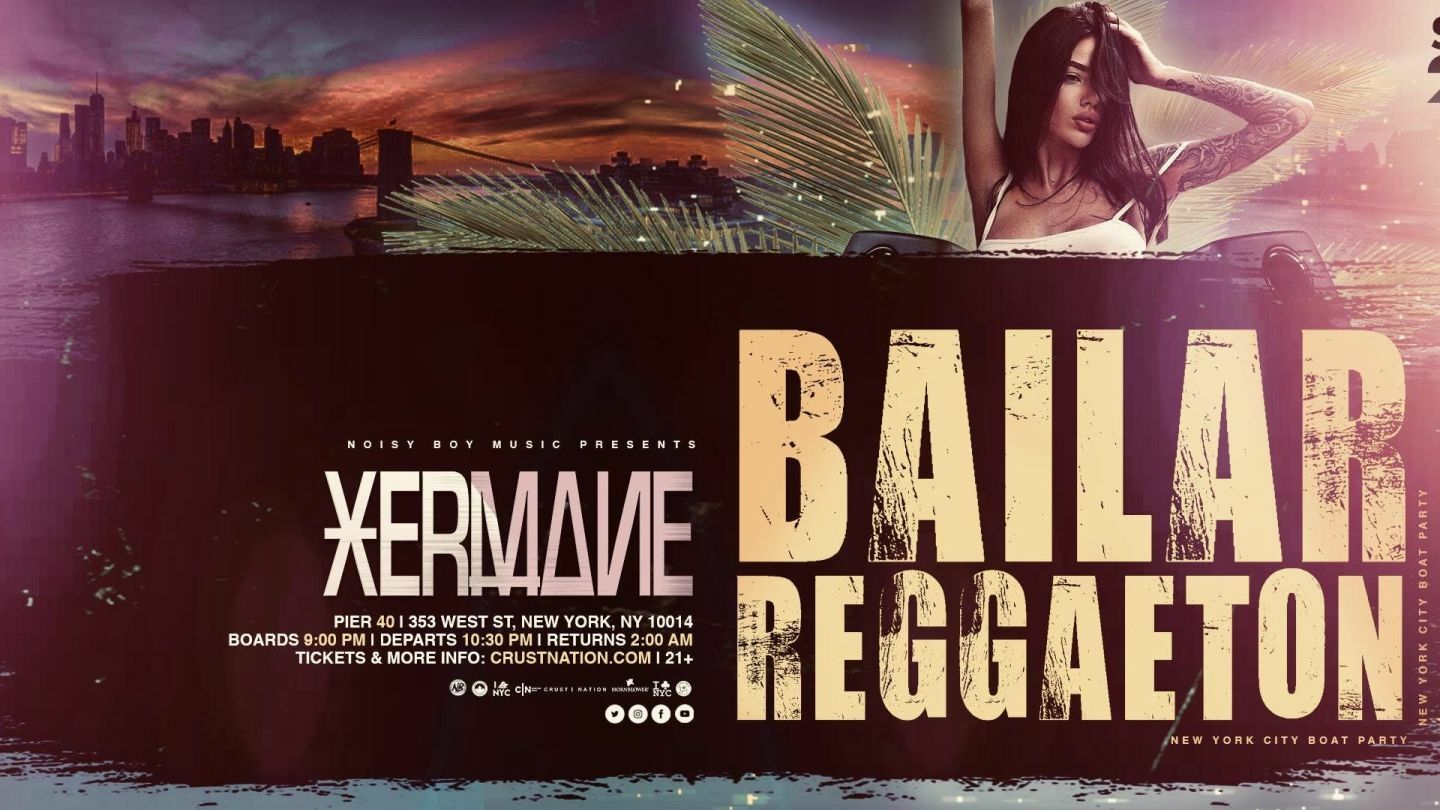 Bailar Reggaeton Yacht Cruise Boat Party NYC