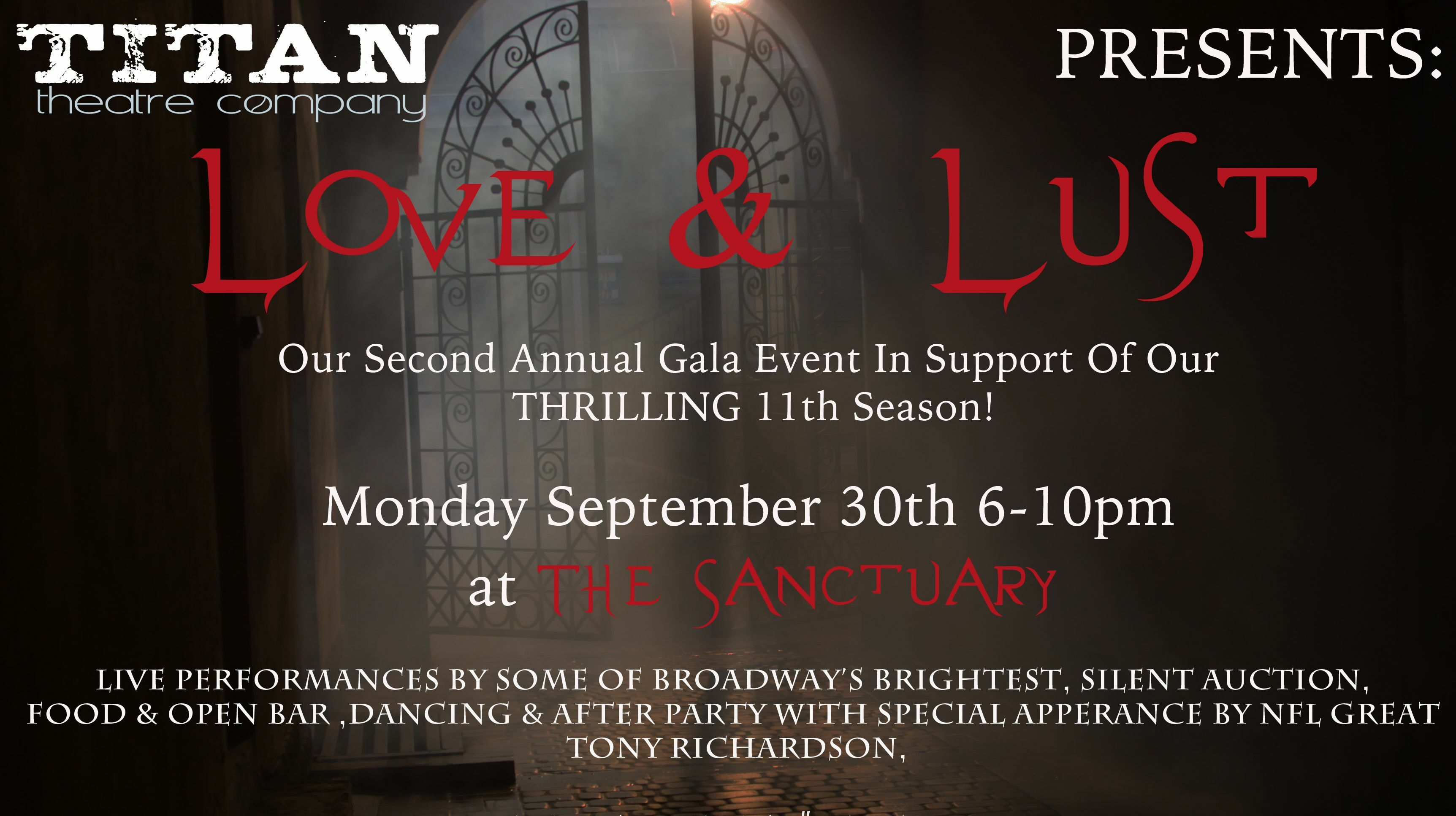 "Titan Theatre's 2019 ""Love & Lust"" Gala Event"