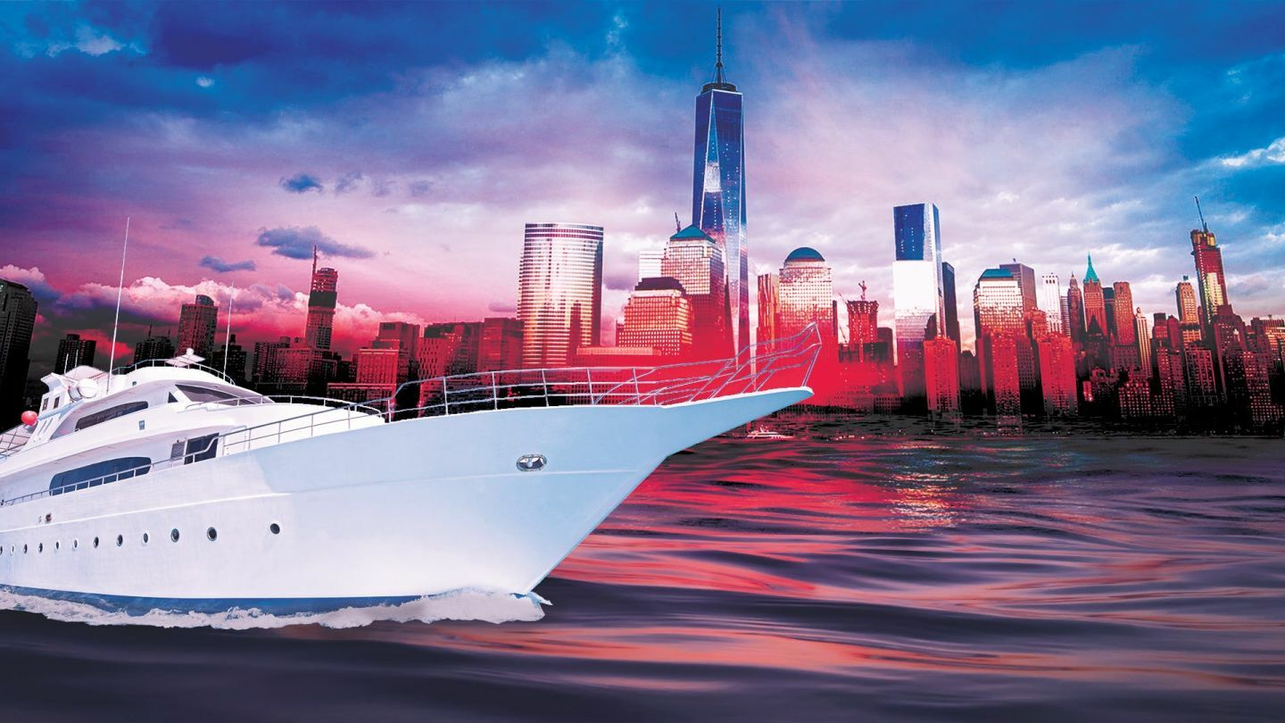 NYC Yacht Cruise around Manhattan Statue of Liberty Boat Party: Friday October 11th