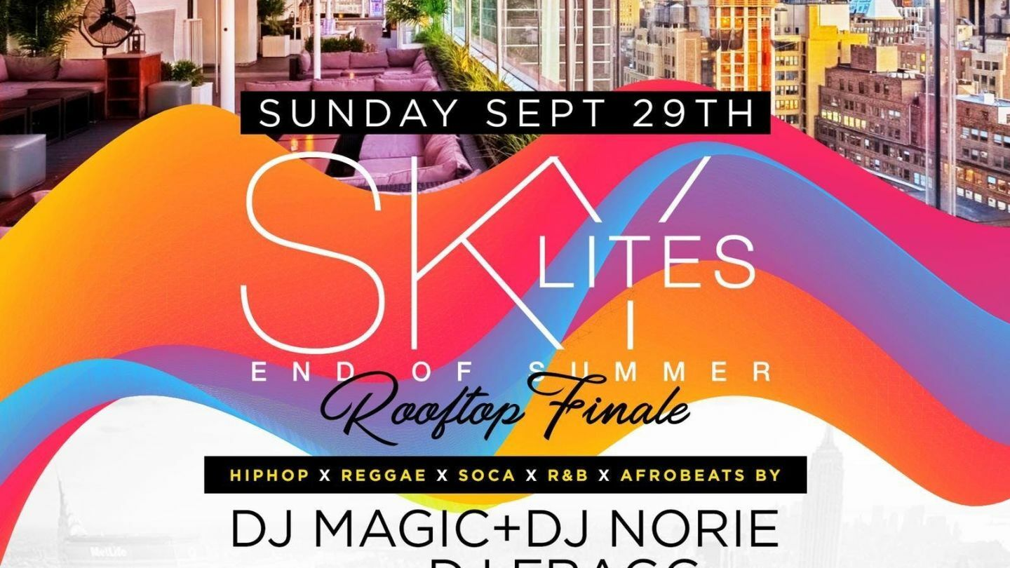 NYC Rooftop Summer Finale DayParty w/Free Drinks, Power105 & Hot97