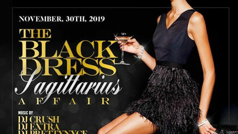 Little Black Dress Sagittarius Thanksgiving Affair