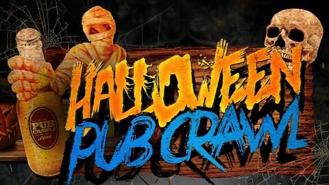 Fort Worth Halloween Weekend Bar Crawl 2019