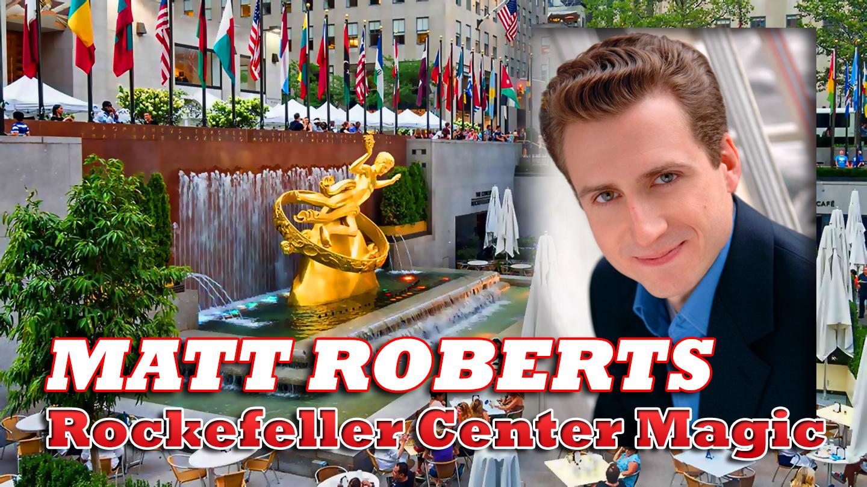 Levitation, Mindreading & Comedy Magic With Matt Roberts