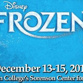 """Wellesley Theatre Project Presents """"Disney's Frozen, Jr."""