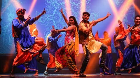 """Taj Express: The Bollywood Musical Revue"""