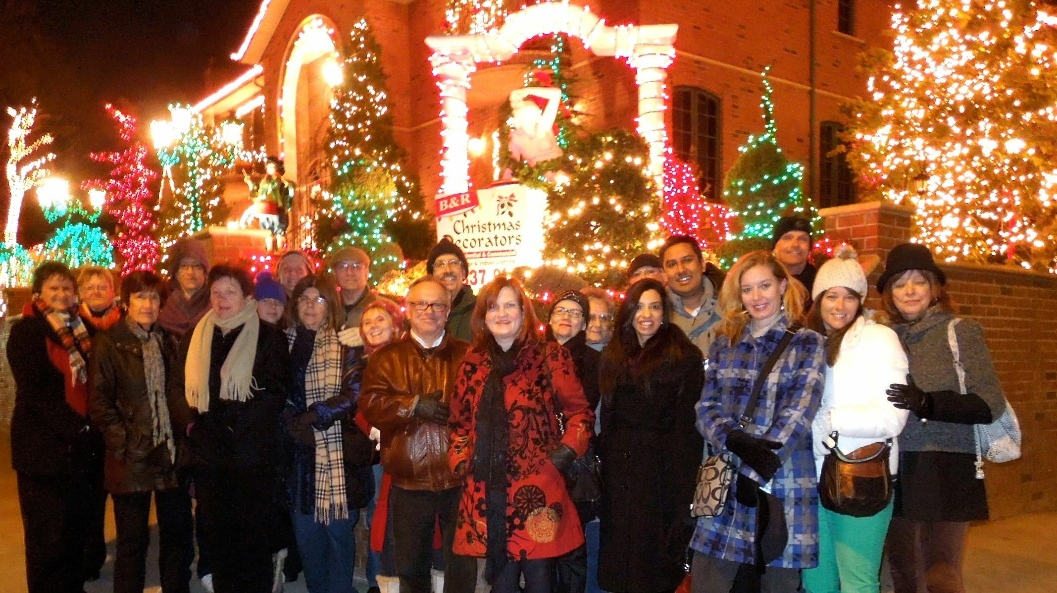 Tour a Glowing Christmas Paradise in Dyker Heights