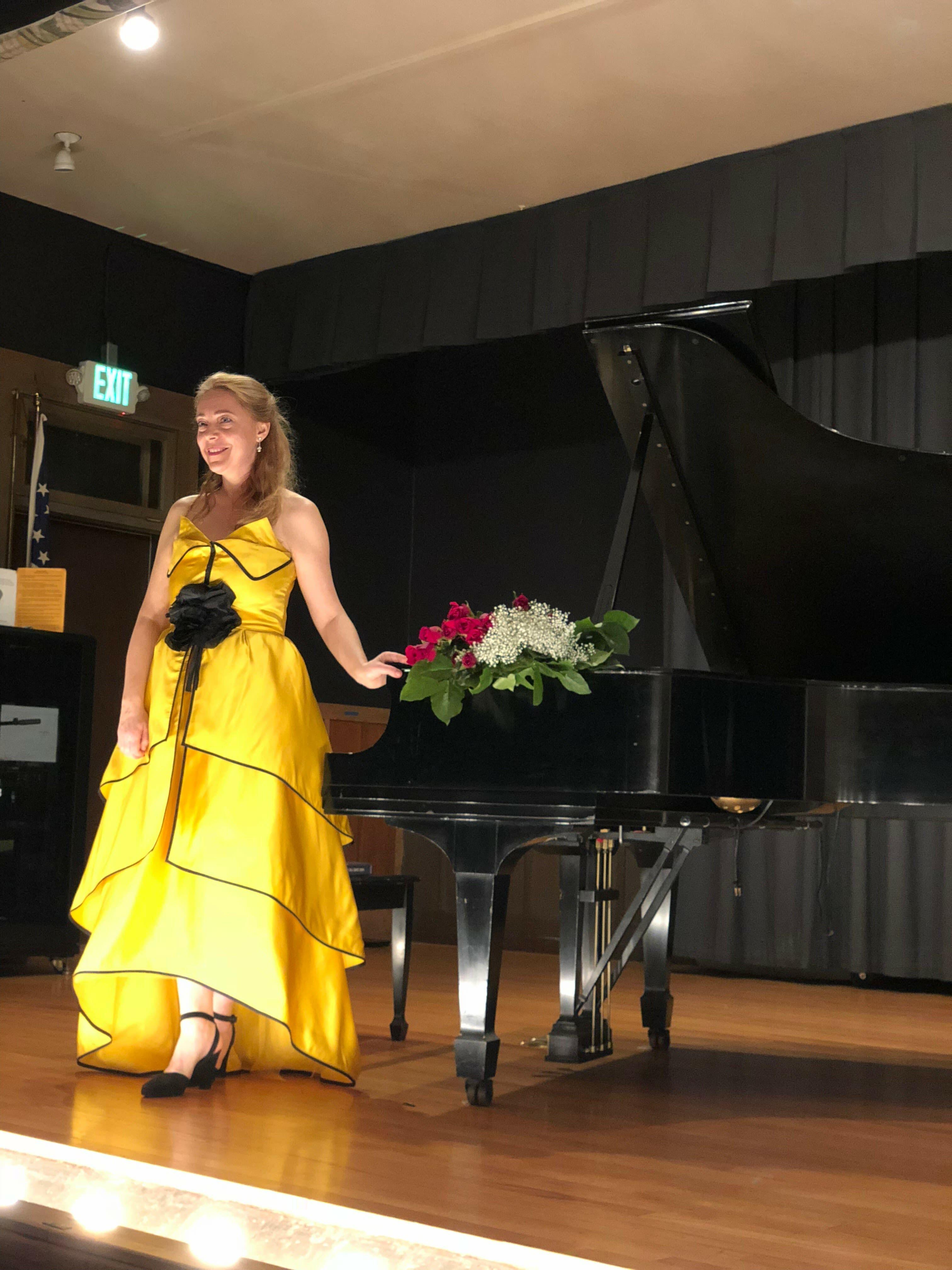 "Pianist Katya Grineva -- ""Classical Holiday: Waltz into the New Year"""