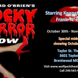 """The Rocky Horror Show"""" Midnight Madness Event!"""