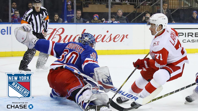 New York Rangers Hit the Ice