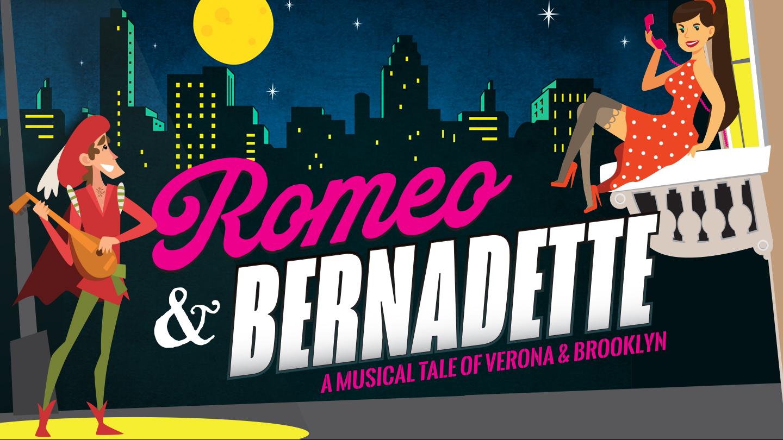 """Romeo & Bernadette: A Musical Tale of Verona and Brooklyn"""